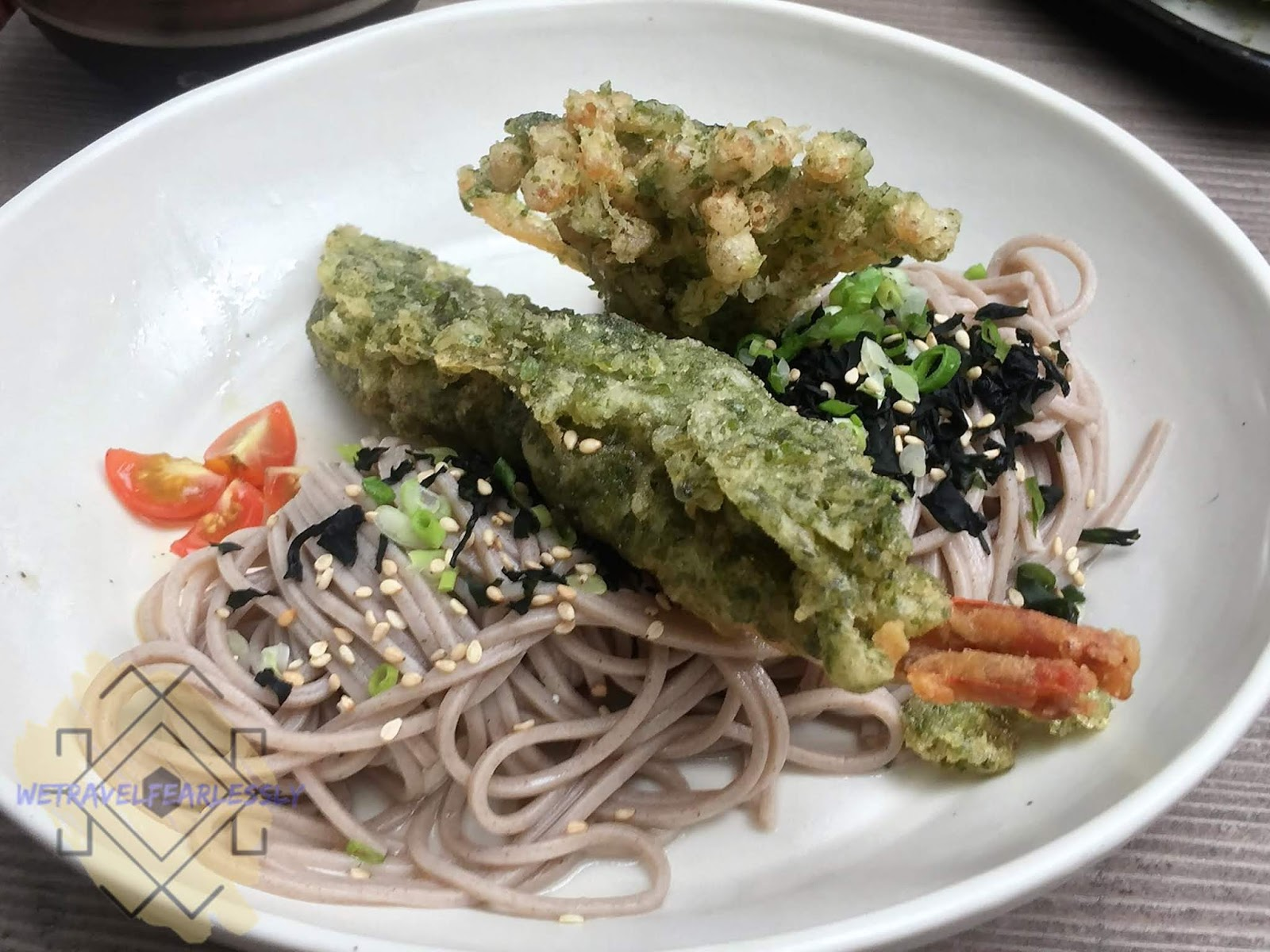Cold Soba (PHP180) in Soru Izakaya in Burgos Circle, BGC - WTF Review