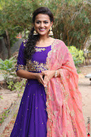 Actress Shraddha Srinath in Purple Chania Choli Cute Pics ~  Exclusive 61.jpg