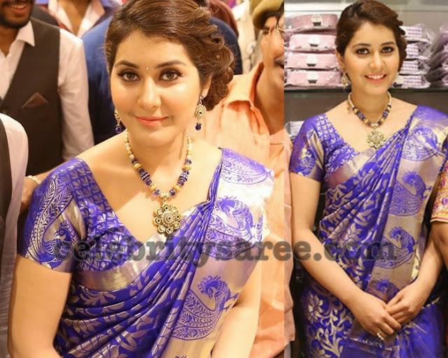 rashi-khanna-kanjeevaram-silk-saree2
