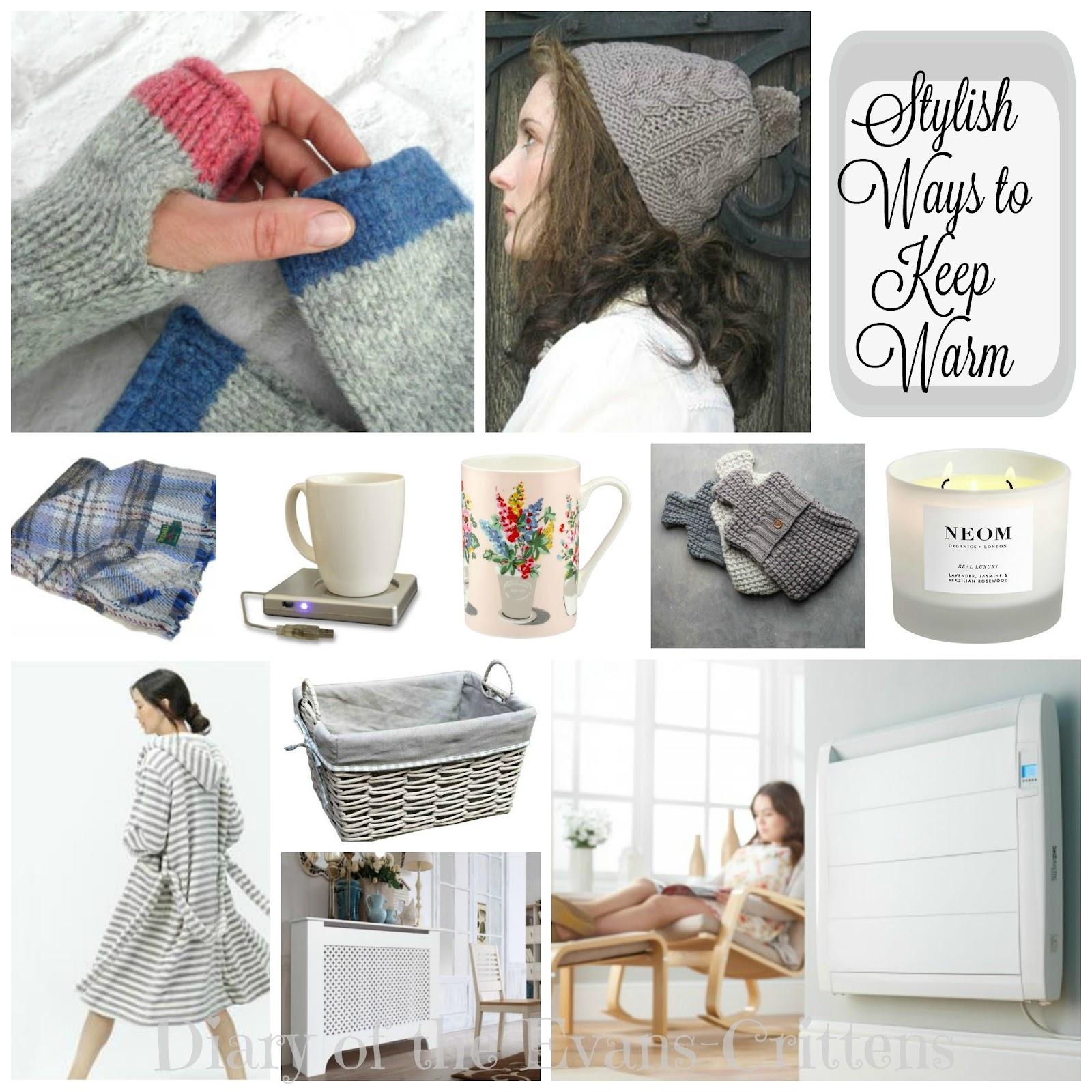Stylish ways to keep warm