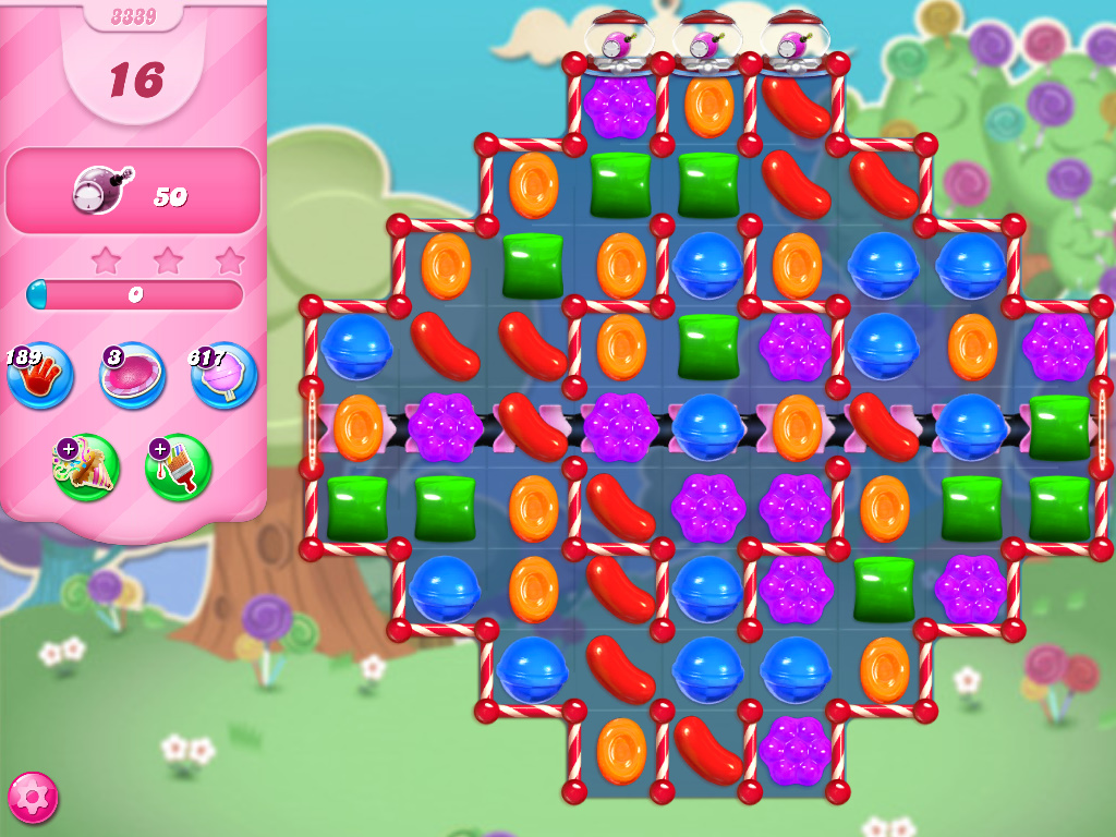 Candy Crush Saga level 3339