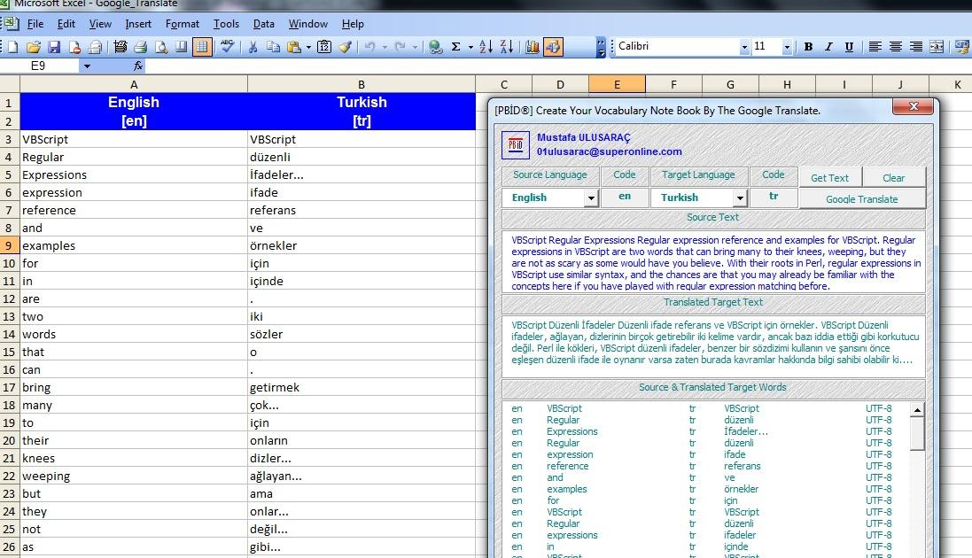 Microsoft Office Excel ® Kod Kılavuzu: Create Your