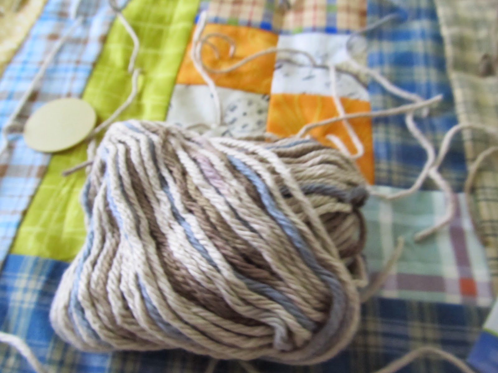 Yarn tied quilt, how to