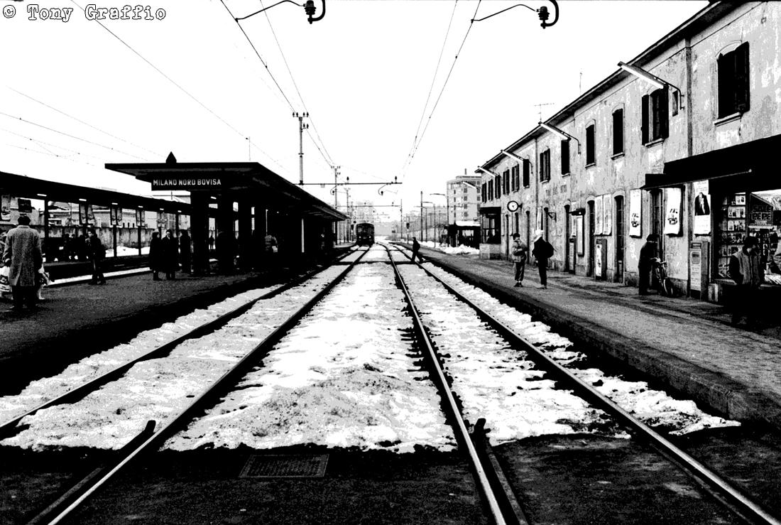 Stazione FMN Bovisa anni '80 Phototrace 2017 Cuneo
