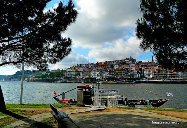 Cais de Vila Nova de Gaia, Portugal