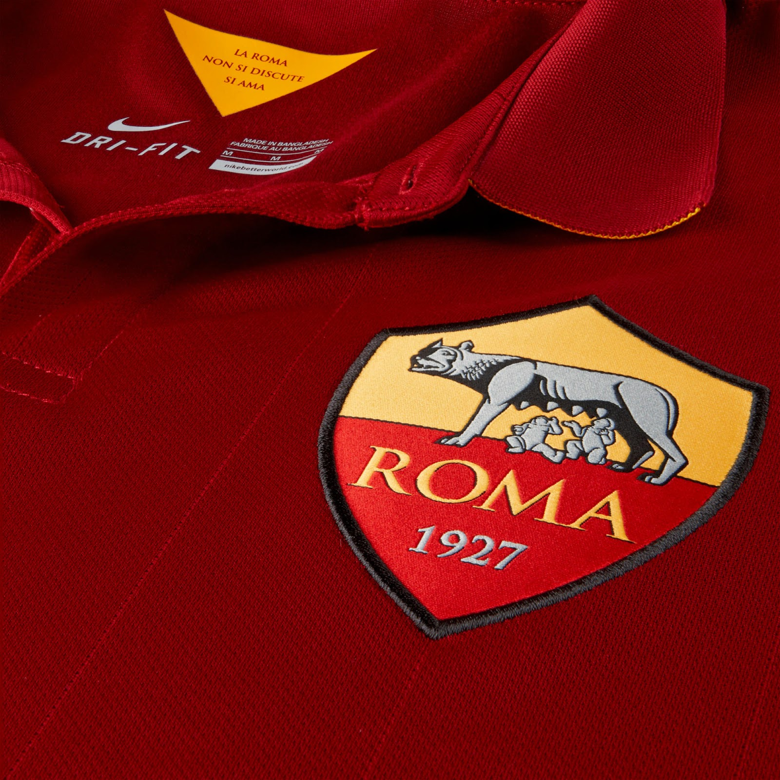 Nike AS Roma 14-15 (2014-15) Home, Away and Third Kits ...