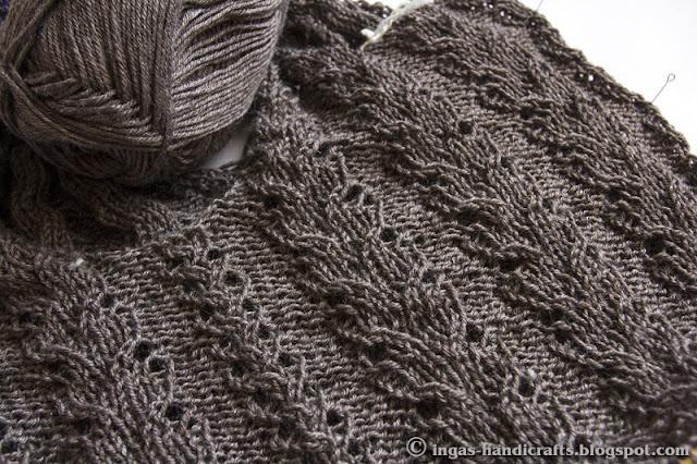 Ülalt alla õmblusteta džemper / Top down seamless Jumper