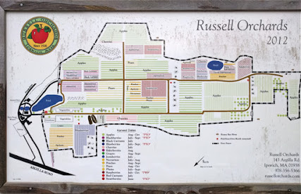 Map of Russell Orchards