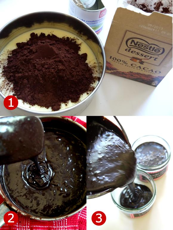 Barnyard Birthday | Pigs in Mud Chocolate Fudge Pots Recipe - BirdsParty.com
