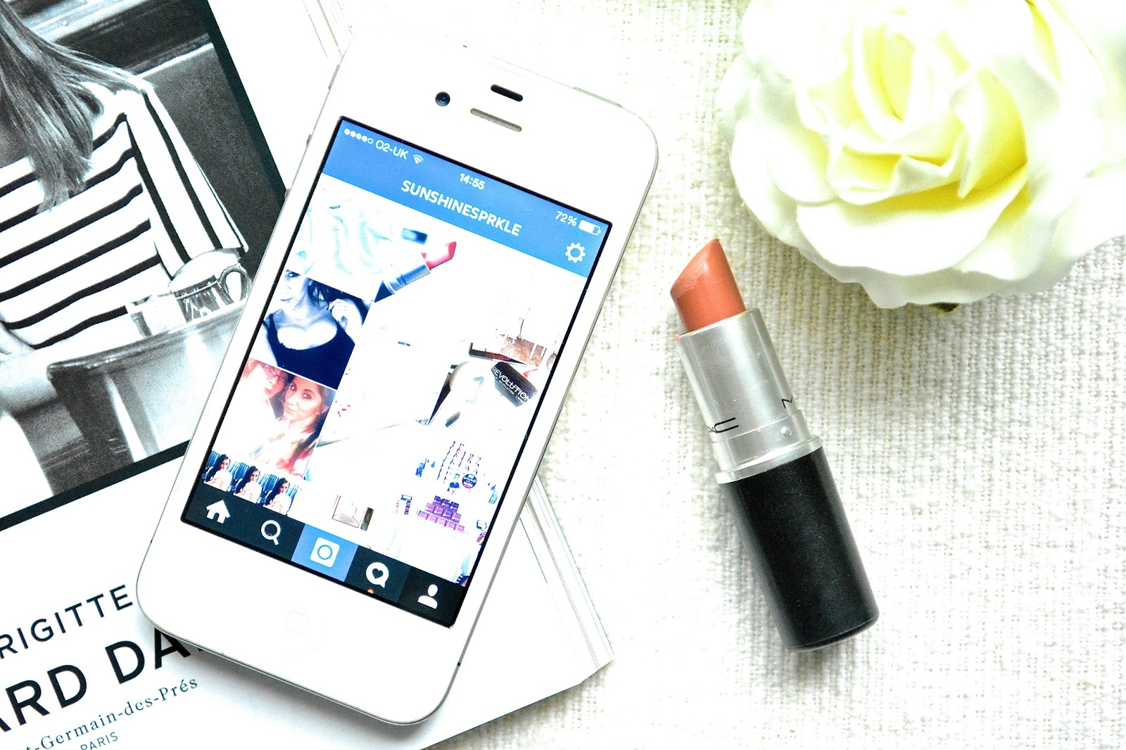 March Beauty Favourites, Instagram, iPhone, Mac Honey Love, Mac Lipstick