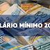 Governo prevê salário mínimo de R$ 1.002 para 2019