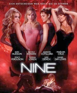 Poster Of Nine (2009) Full Movie Hindi Dubbed Free Download Watch Online At worldfree4u.com