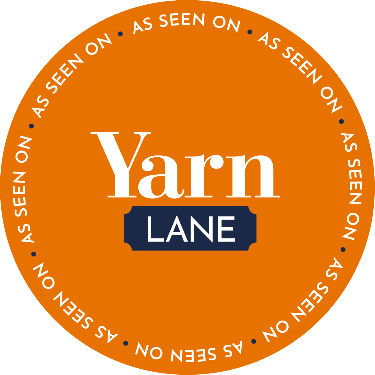 I'm on Yarn Lane TV!