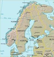 من الدول الاسكندينافية