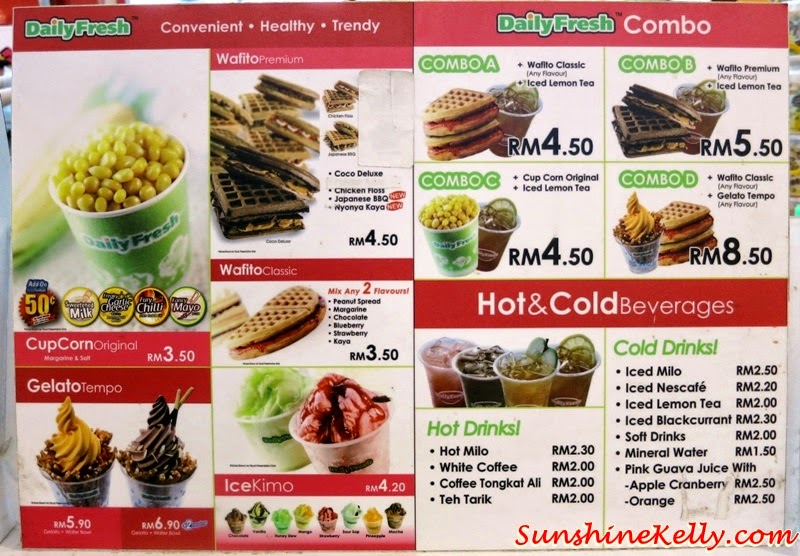Daily Fresh Ready To Go Snacks, Daily Fresh, Ready Snacks, Healthy Convenient Snacks, Cupcorn, wafito, popcorn, gelato tempo, icekimo