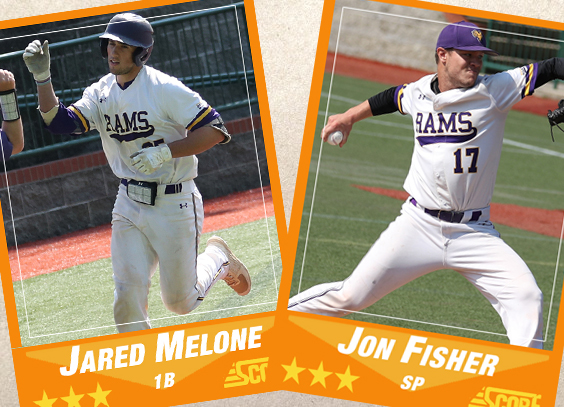 Jared Melone and Jon Fisher earn D-II honors from the Philadelphia Baseball Review
