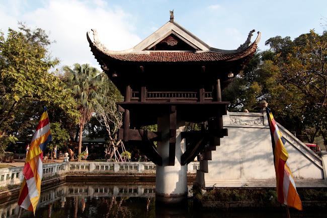 Pagoda de un Pilar Único