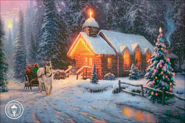 Thomas Kinkade Light Pictures