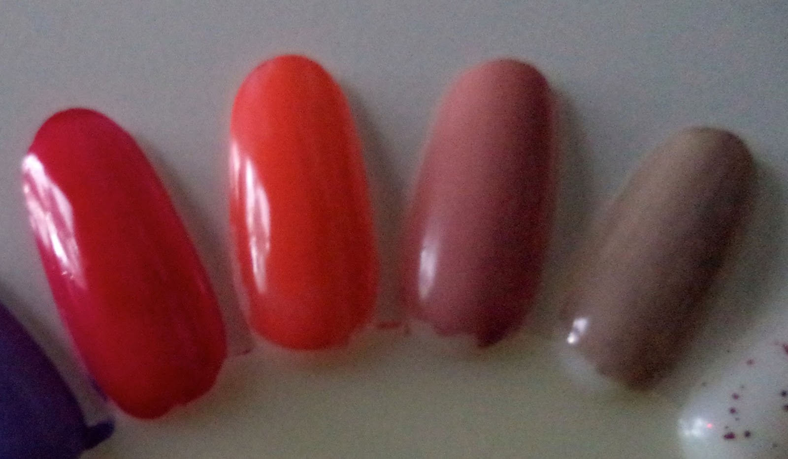 [Review] e.l.f. Essential 15-Piece Nail Polish Set - Limited Edition Smokin Hot, Mango Madness, Nude, and Desert Haze