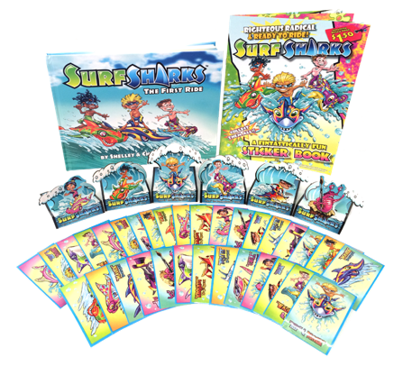 Surf Sharks: The First Ride gift set
