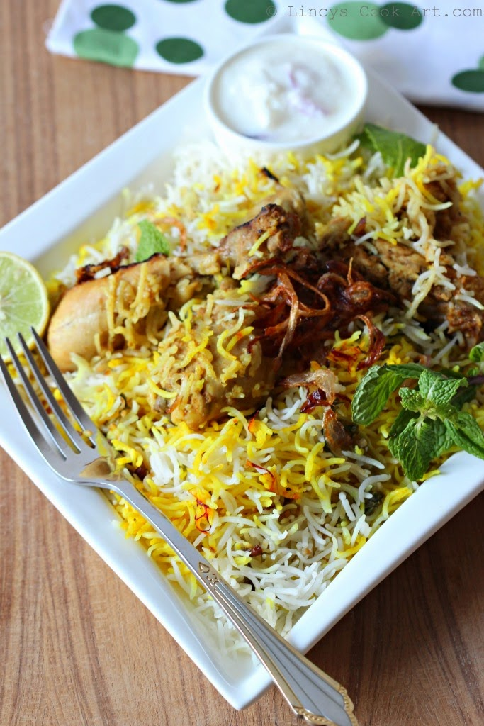 Awadhi Chicken Biryani