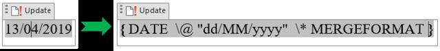 Cara 1 Menampilkan Kode Bidang Dalam Dokumen
