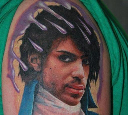 Purple Rain, De Prince Tatuagem
