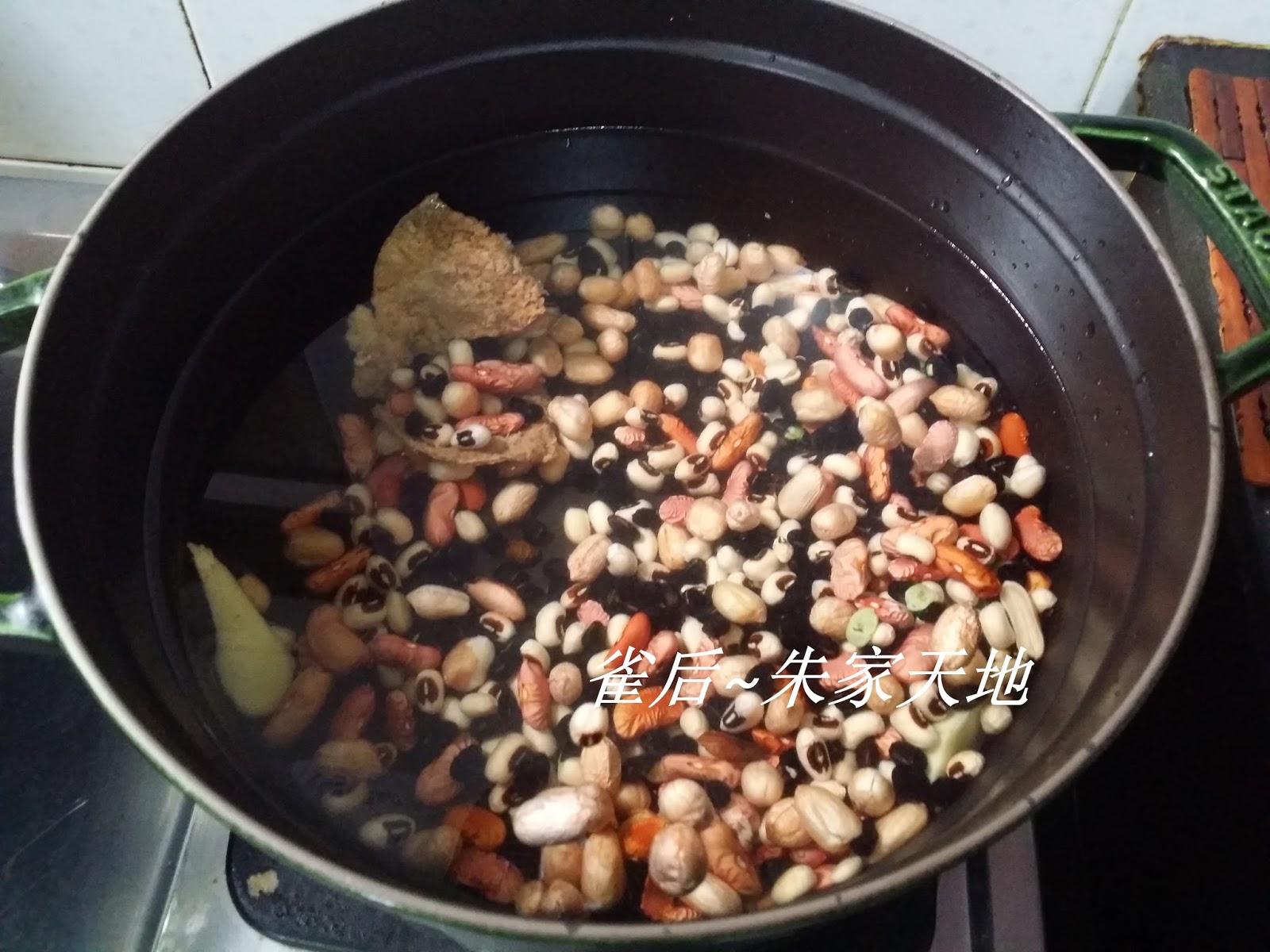 素湯~合掌瓜甘筍雜豆湯