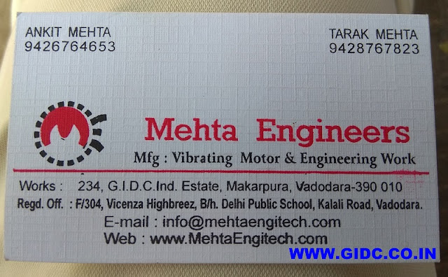 MEHTA ENGINEERS - 9426764653 9428767823