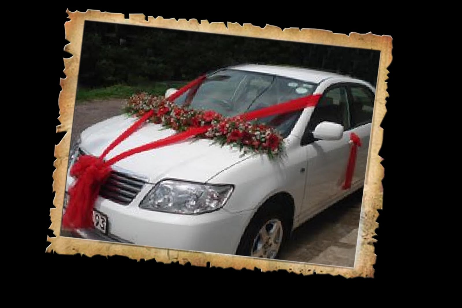 Wedding Snaps: Car DecorationWedding Snaps