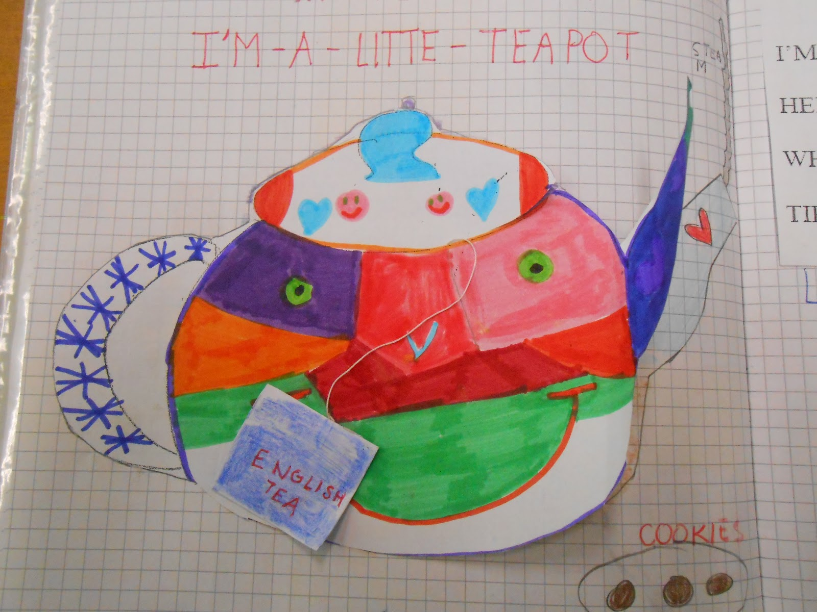 My English Corner I M A Little Teapot
