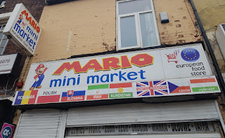 Mario Mini Market on the Stockport Road in Levenshulme, Manchester