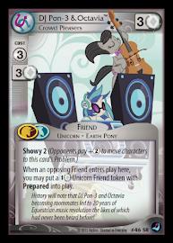 My Little Pony DJ Pon-3 & Octavia, Crowd Pleasers High Magic CCG Card