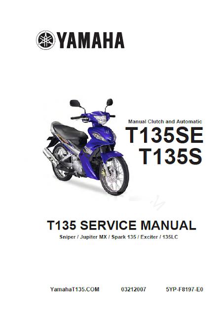 Buku Manual Yamaha Jupiter MX  BUKU MANUAL