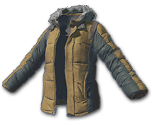 Куртка с подкладом цвета Хаки (Khaki Padded Jacket)