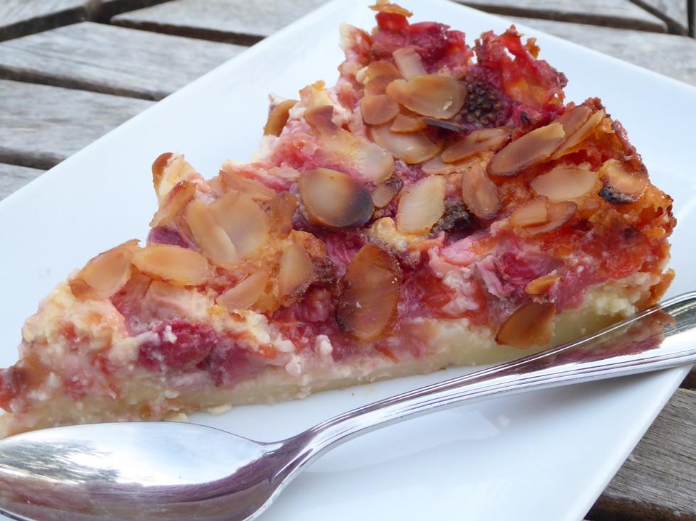 Recette sans gluten de clafouti pamplemousse et fraise