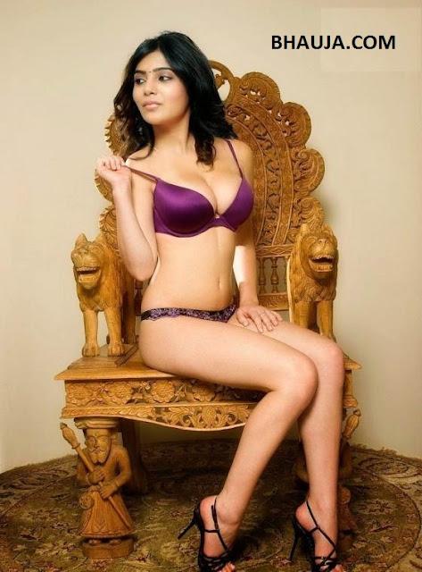 SAMANTHA RUTH INDIAN CUTE ACTRESS REAL BIKINI PHOTO