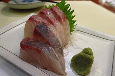 Keria Japanese Restaurant, kanpachi sashimi