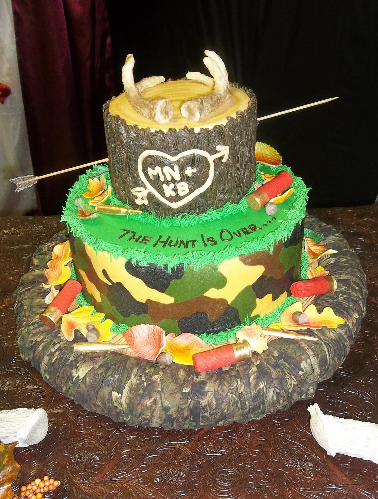 Decorate The Cake Acorns Fall Hunting Theme