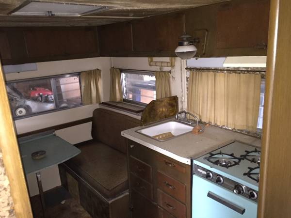 rvs  chevy  open road camper project  sale  owner