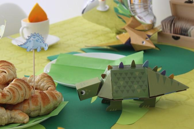juguetes de cartón para niños - dinosaurios krooom