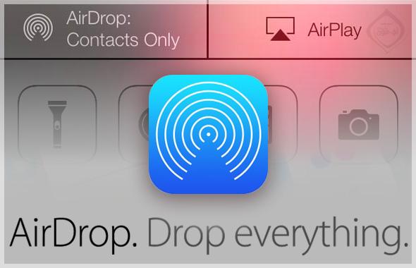 خدمة AirDrop