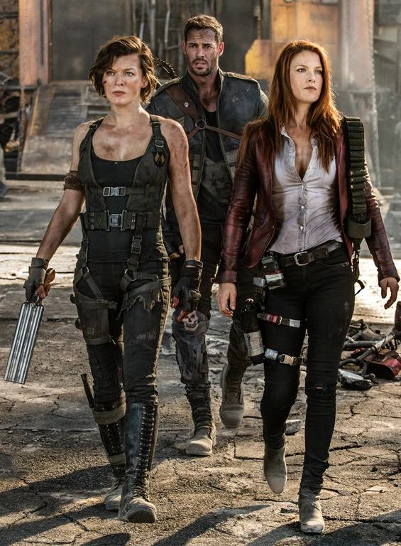 Purely by coincidence, Jovovich got to work with Perlman anyway on her next movie, Monster Hunter, helmed by her English director-husband Paul W.S. Anderson, who directed, wrote and produced almost all six of the Resident Evil films and with whom she shares two daughters aged 12 and four.