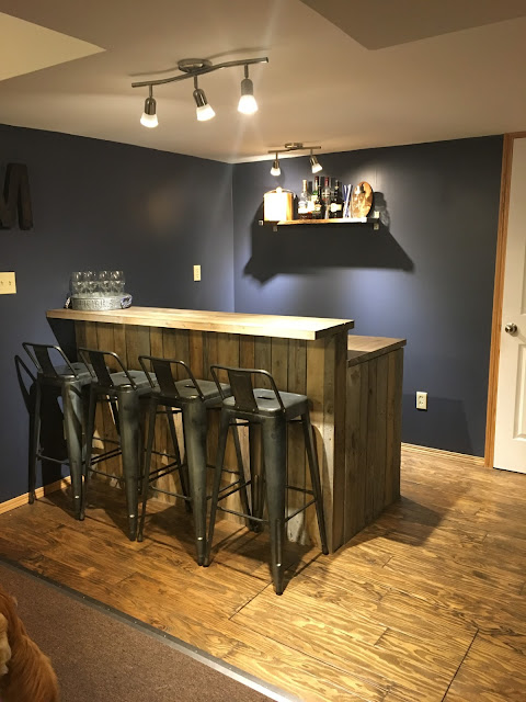 DIY industrial bar