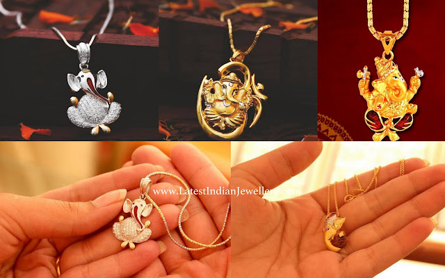 Ganesh Pendants for Chains