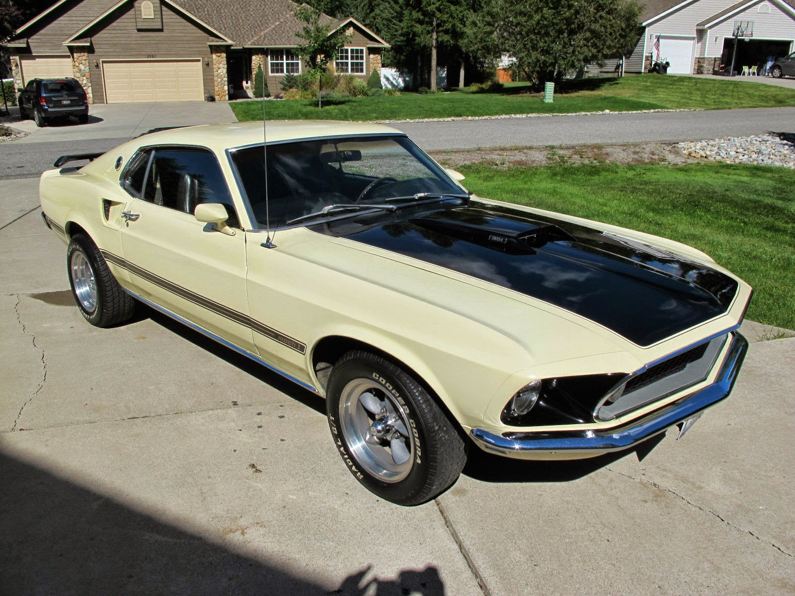1969 ford mustang mach 1 351 cleveland