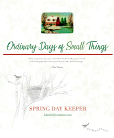 Ordinary Days of Small Things<br>Spring Day Keeper