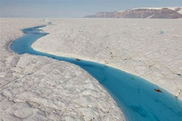 Blue River, Greenland. A Paradise For Kayak Lovers