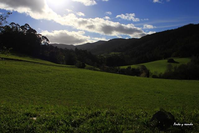 Valles verdes de Asturias