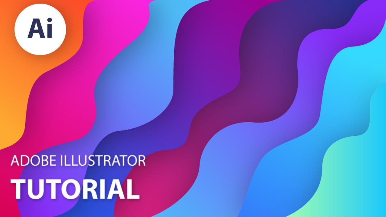 Colorful Background Design   Modern Design   Adobe Illustrator ...